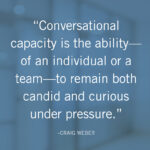 Building Your Conversational Capacity